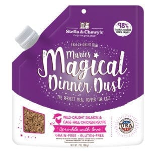Marie's Magical Dinner Dust Salmon & Chicken | Stella & Chewy's